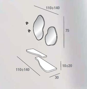scheda tecnica composizione nancy 535