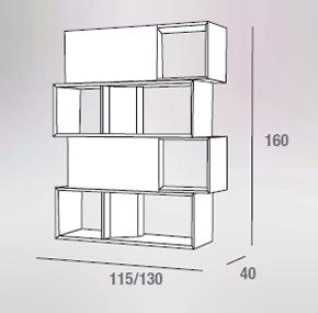 scheda tecnica composizione lego 608