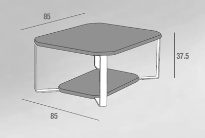 scheda tecnica tavolino aurora olmo