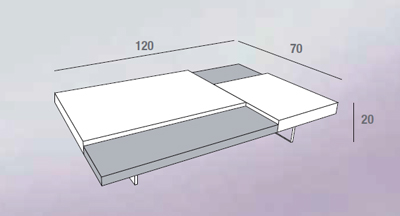 scheda tecnica tavolino erica ardesia