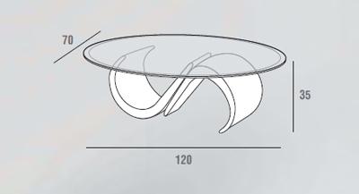 scheda tecnica tavolino mara marmo