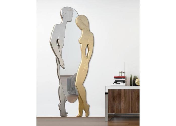 Adamo ed Eva argento e oro