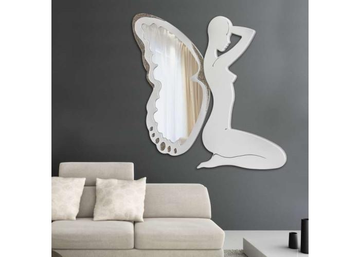 Specchiera Trilli bianca
